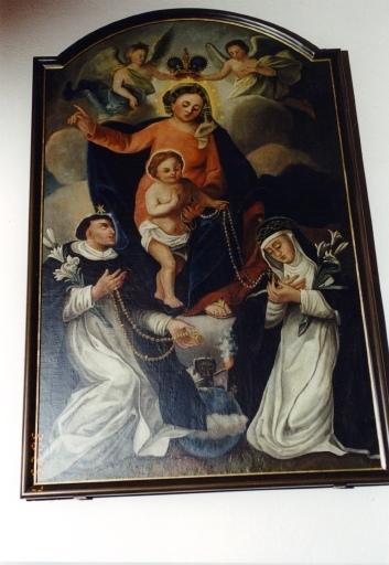 tableau : Vierge au rosaire