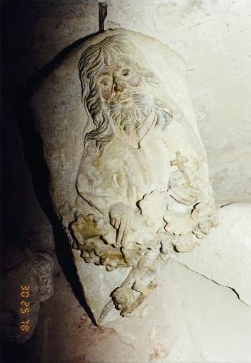 goupe sculpté : Annonciation