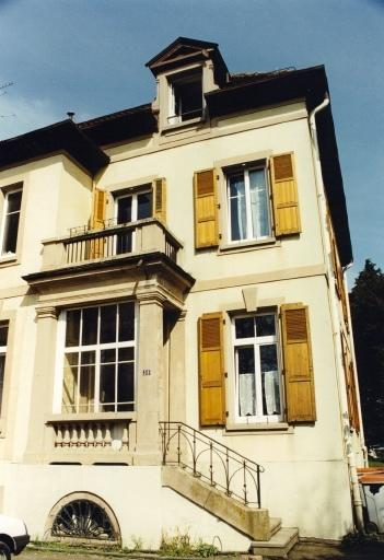 maison d'industriel dite villa Thierry-Mieg