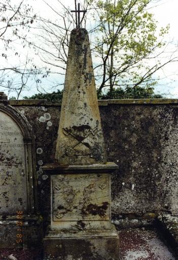 Monument funéraire d'Antoine Bischoff