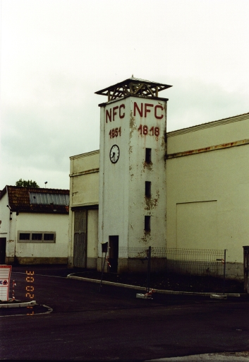 usine textile, Cernay SA