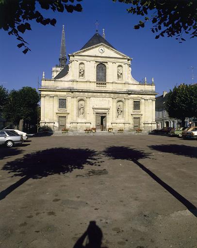 Eglise paroissiale Notre-Dame dit Cloître des Lazaristes ou des Prêtres de la Mission