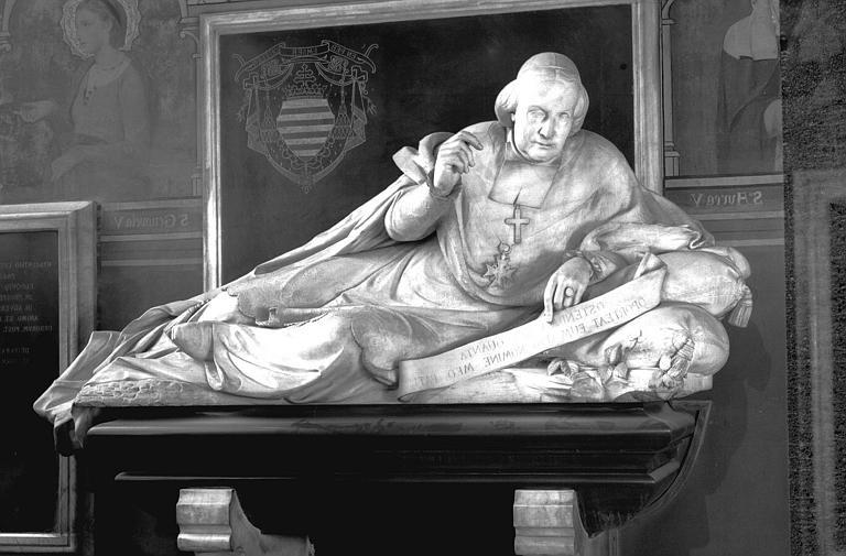 monument funéraire de Monseigneur Hiacynthe-Louis de Quelen, archevêque de Paris