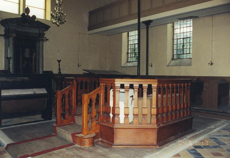 Le mobilier de la synagogue