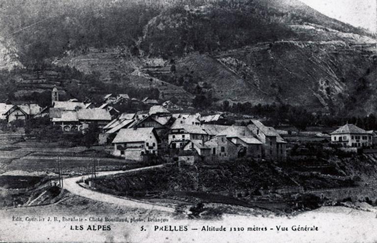 présentation de la commune de Saint-Martin-de-Queyrières