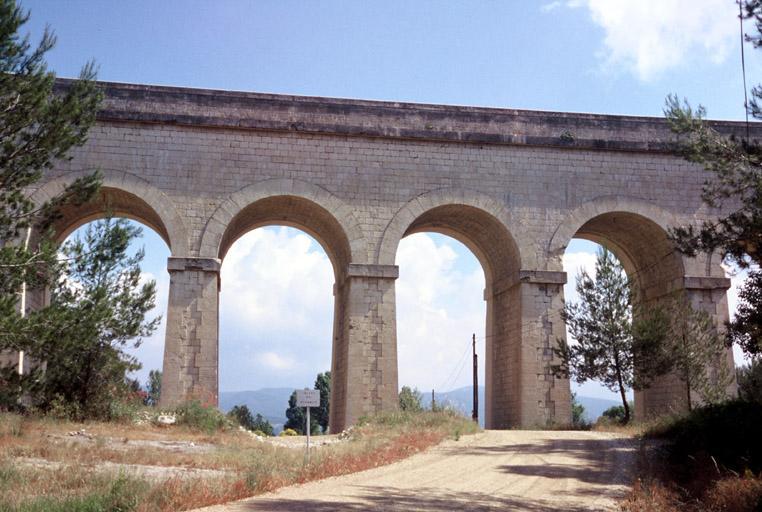 aqueduc de Jacourelle, canal de Marseille