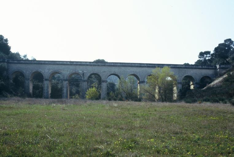 aqueduc de Valbonnette, canal de Marseille