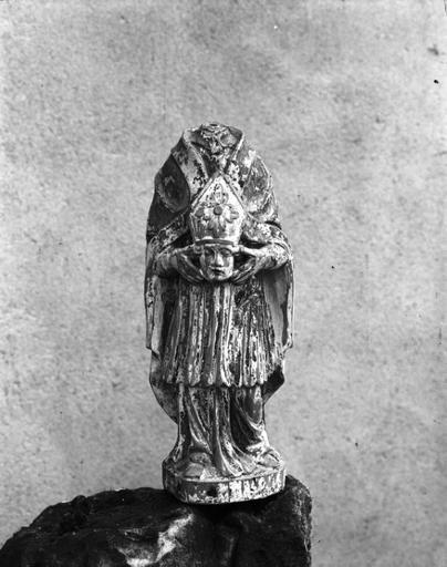 statuette : saint Laurean