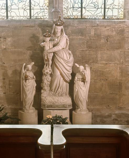 statues : Notre-Dame des Victoires