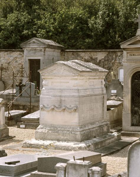 tombeau de la famille Geoffroy-Lepic