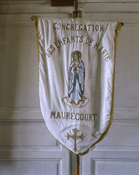 bannière de procession de la Congrégation des Enfants de Marie