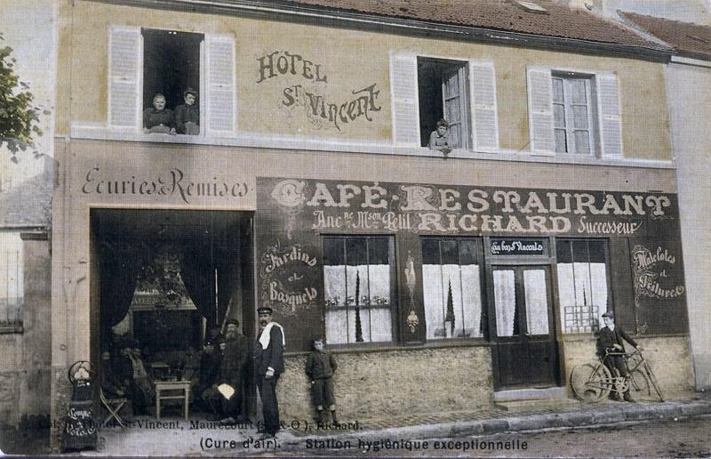 hôtel de voyageurs Saint-Vincent ; restaurant