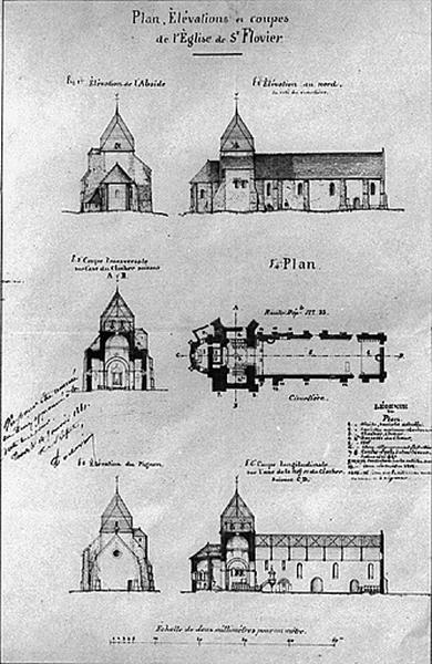 église paroissiale Saint-Flovier