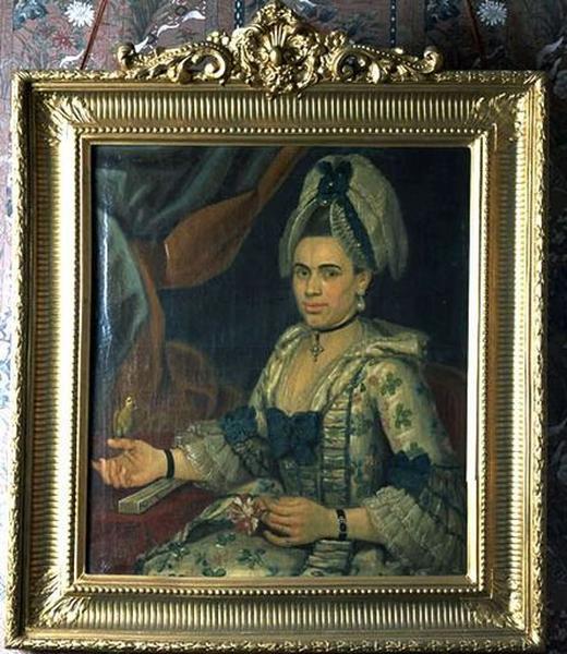 Tableau : Portrait de Mme Petit, femme du chirurgien médecin du duc de Croy