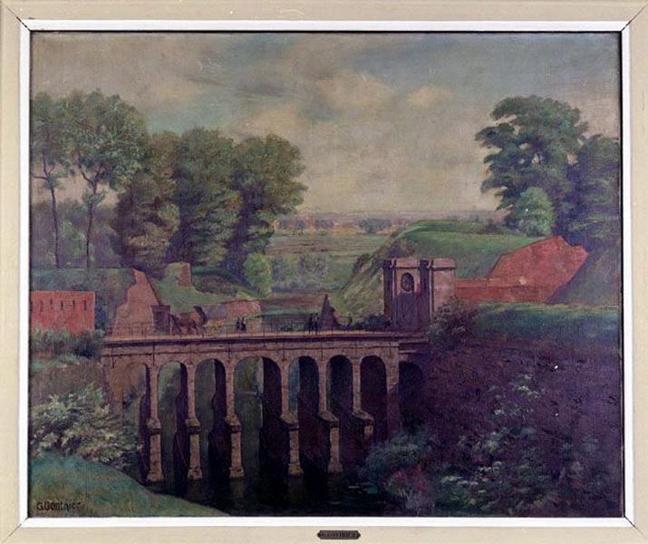 Tableau : Le Long Pont