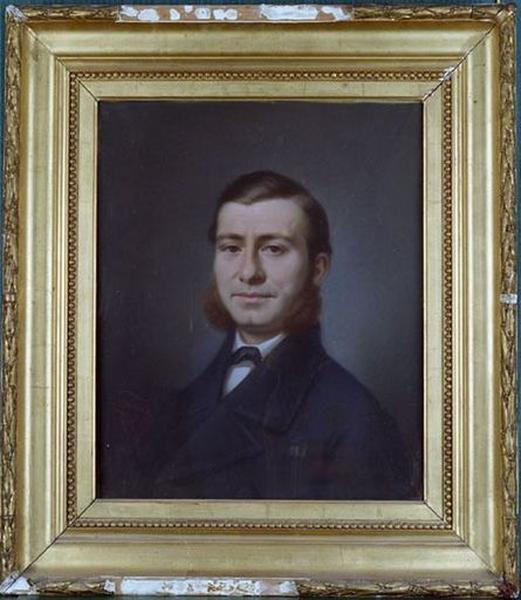 Dessin : Portrait d'homme