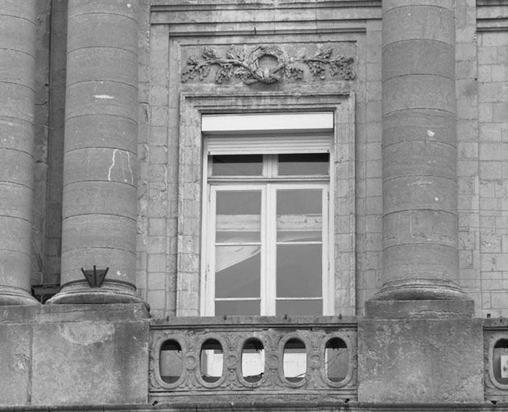 Ensemble d'édifices derrière façade (hôtel de ville, maisons), actuellement hôtel de ville
