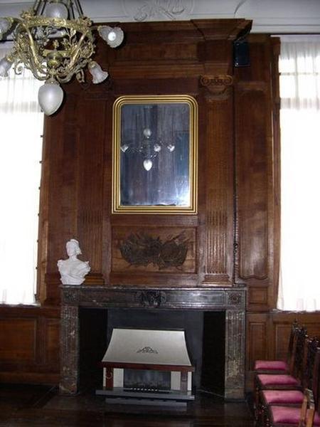 Trumeau de cheminée de la salle des mariages