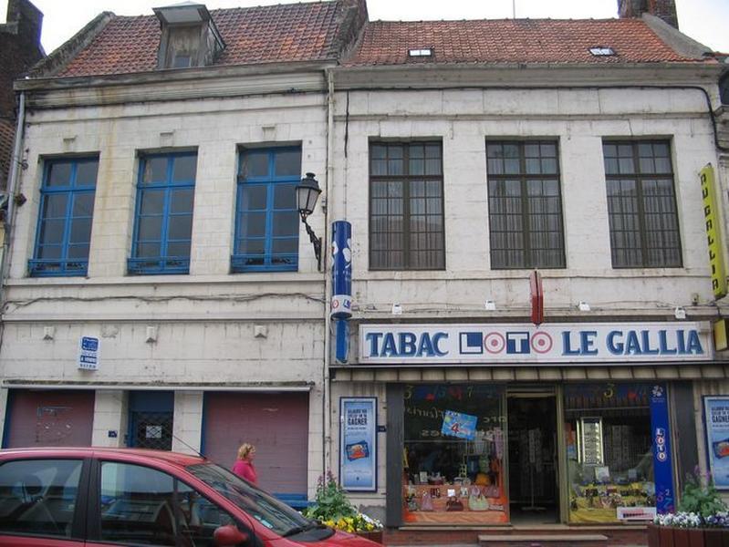 Maison (café Le Gallia)