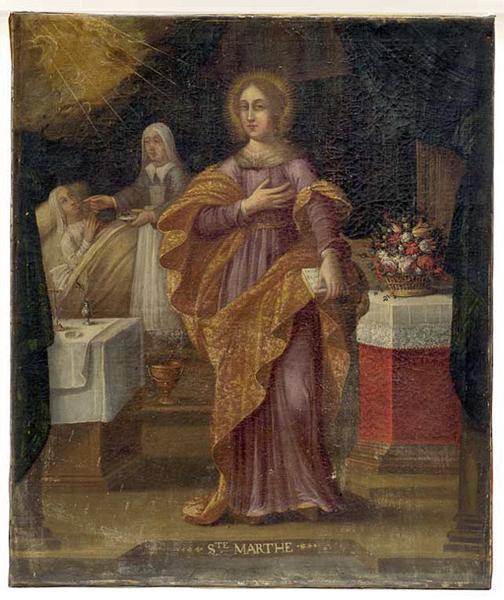 tableau : sainte Marthe