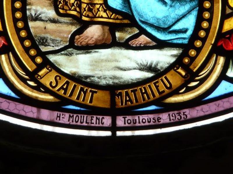 verrière : Saint Matthieu