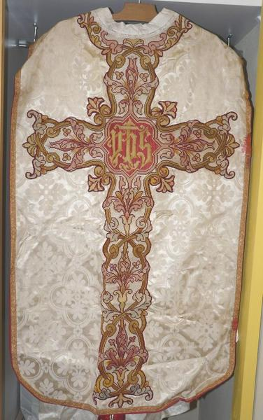 chasuble (ornement blanc) No 1