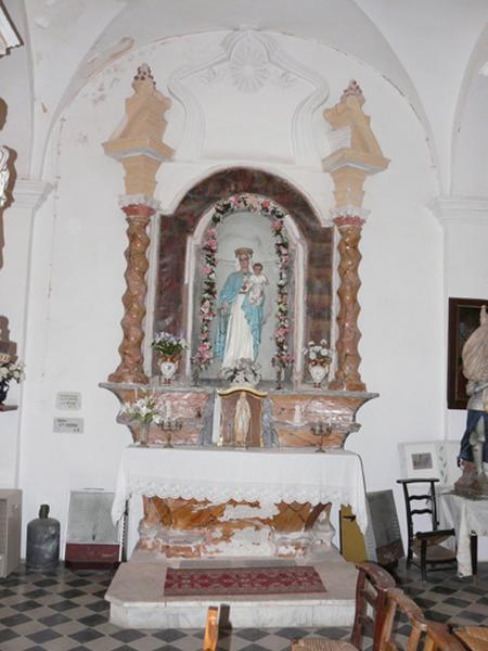 autel secondaire de la confrérie du Rosaire
