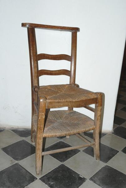 chaise prie-Dieu (No 5)