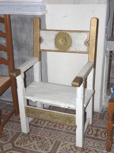 chaise de célébrant