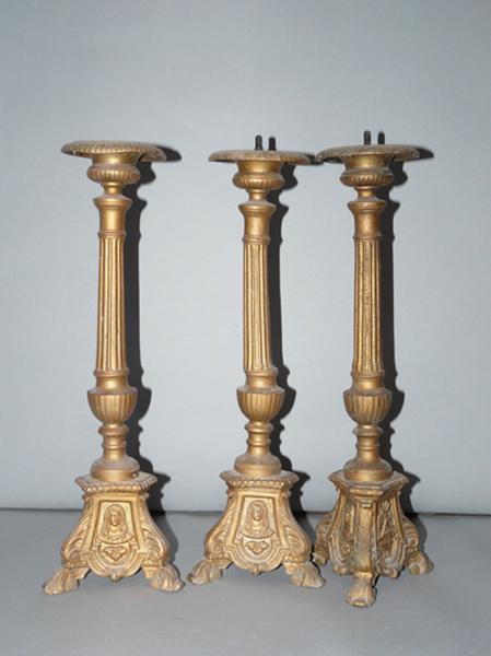 chandeliers d'autel (No 2)