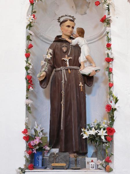 statue : Saint Antoine de Padoue et l'Enfant Jésus
