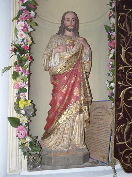 statue : Sacré-Coeur