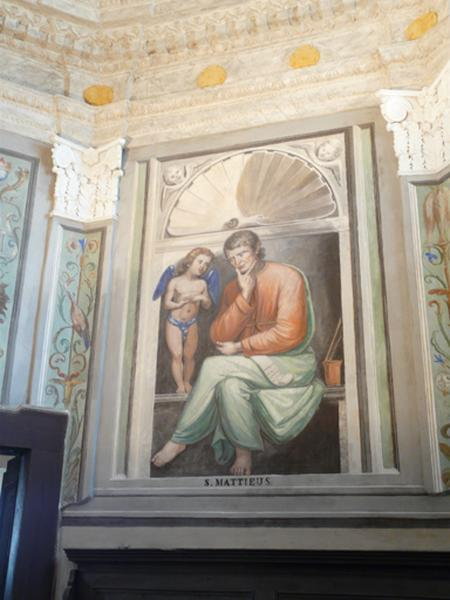 peintures monumentales : Saint Matthieu