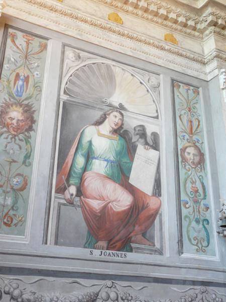 peintures monumentales : Saint Jean