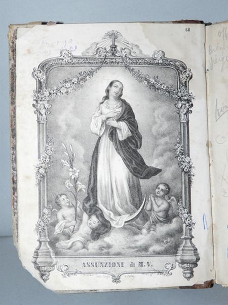 livre : Office de la Bienheureuse Vierge Marie (No 2)