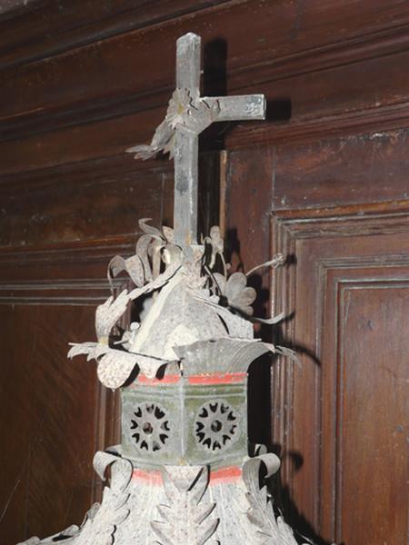ensemble de six lanternes de procession