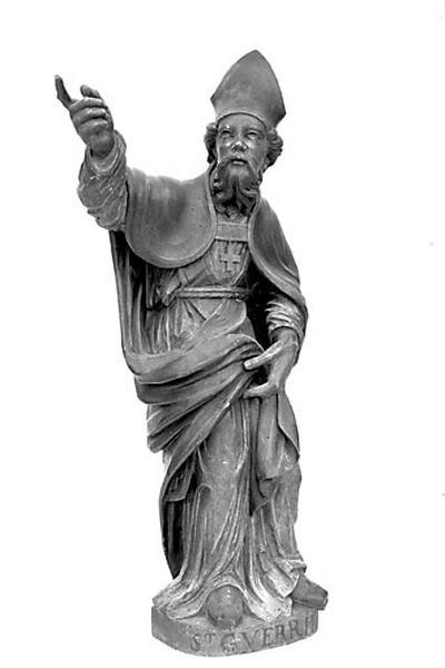 statue : saint Guerrin