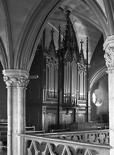 buffet d'orgue, partie instrumentale de l'orgue