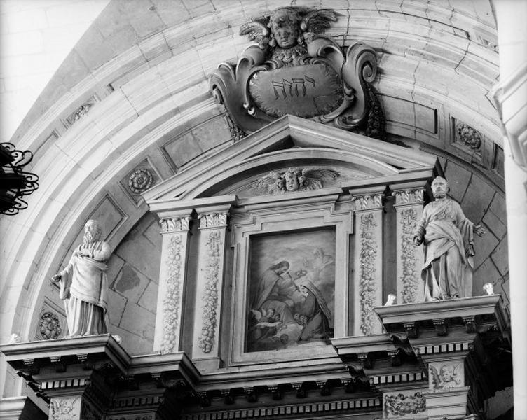 retable de l'autel majeur
