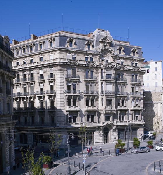 hôtel de voyageurs Régina et immeuble de bureaux de la Compagnie des Messageries maritimes