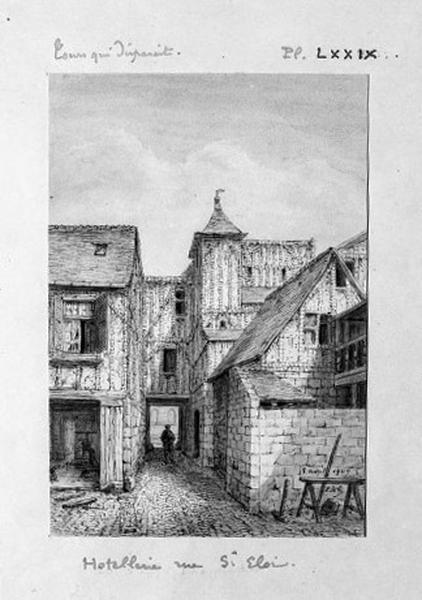 hôtellerie des Trois-Piliers puis du Dauphin
