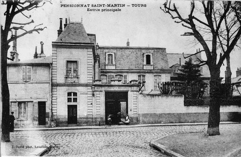 hôtel dit Maison du Doyen de Saint-Martin; Pensionnat Saint-Martin