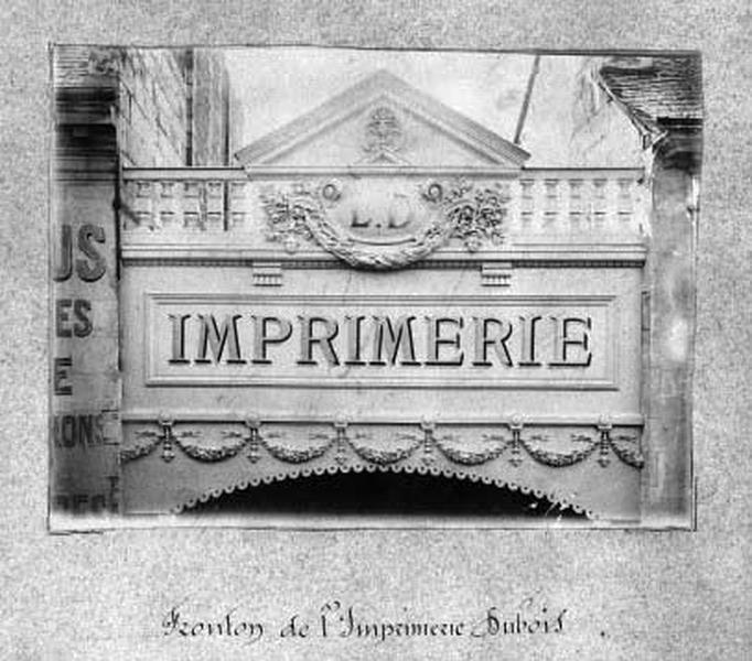 imprimerie Dubois