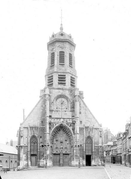 Photo de Vue d'ensemble ouest du monument Eglise Saint-Léonard Honfleur
