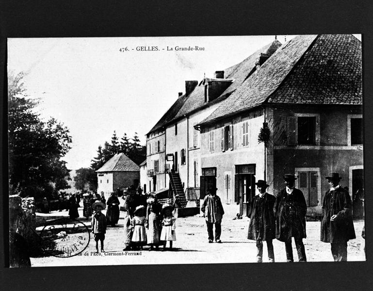 présentation de la commune de Gelles
