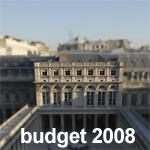 BUDGET 2008 du ministère de la Culture et de la Communication