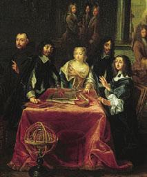 Descartes en la corte sueca
