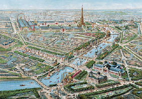 Paris 1900 Vue g�n�rale de