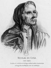 Nicolas de Cues, gravure de P.A Varin