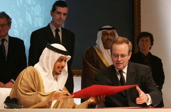 Création du musée universel Louvre Abou Dabi